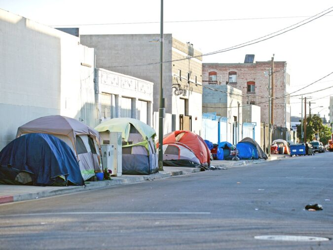 los angeles tent city