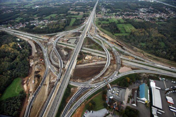 klaverblad snelwegen