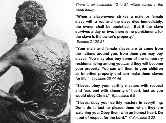 bible and slavery
